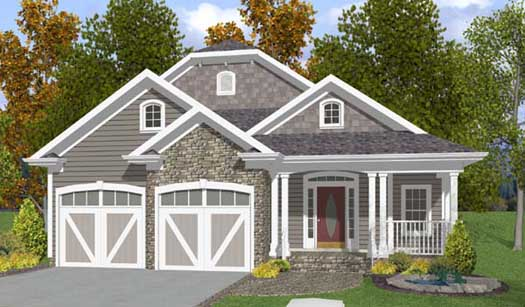 Country Style House Plans Plan: 4-189