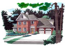 Traditional Style House Plans Plan: 4-191