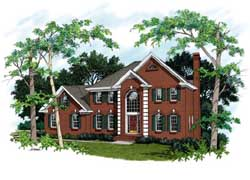 Southern Style Floor Plans Plan: 4-192