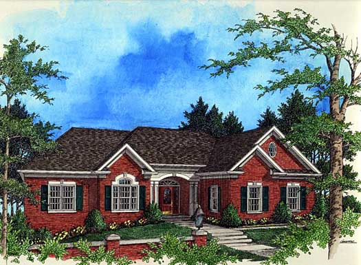 Traditional Style Floor Plans Plan: 4-195