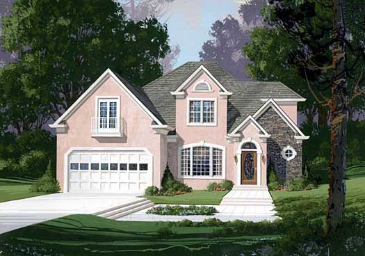 Traditional Style Floor Plans Plan: 4-199