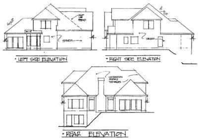Rear Elevation Plan: 4-199