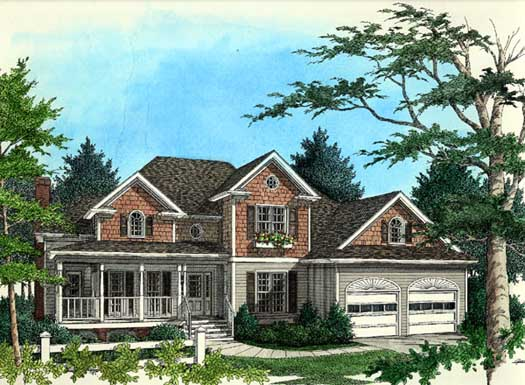 Traditional Style House Plans Plan: 4-200