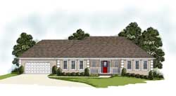 Traditional Style Floor Plans Plan: 4-201