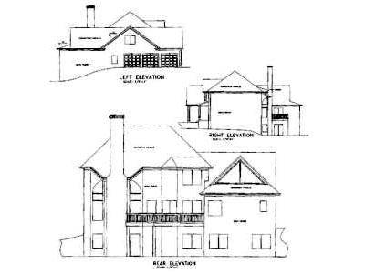 Rear Elevation Plan: 4-204