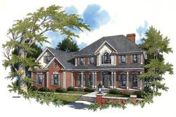 Traditional Style House Plans Plan: 4-204