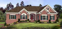 Traditional Style House Plans Plan: 4-205