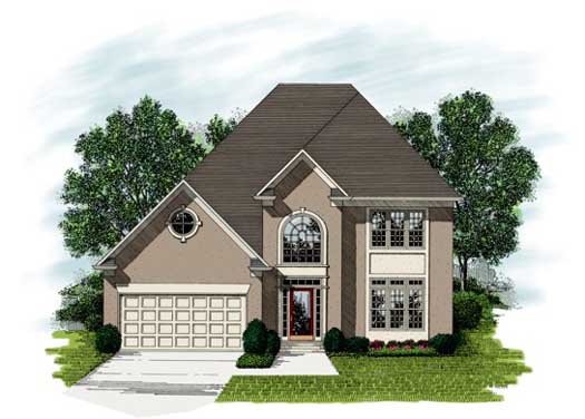Traditional Style Floor Plans Plan: 4-206