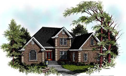 Traditional Style House Plans Plan: 4-207
