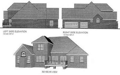 Rear Elevation Plan: 4-207
