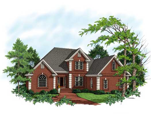 Traditional Style House Plans Plan: 4-208