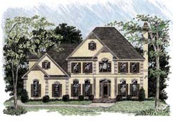Traditional Style Floor Plans Plan: 4-218
