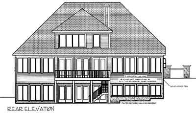 Rear Elevations Plan:4-224