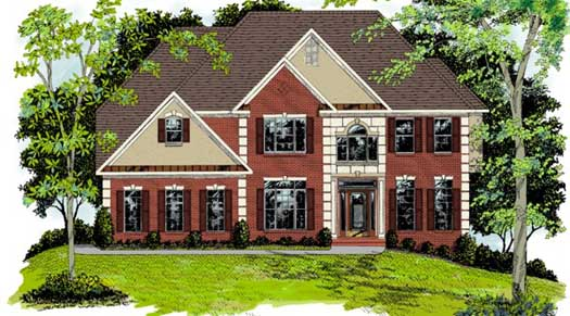 Traditional Style House Plans Plan: 4-228