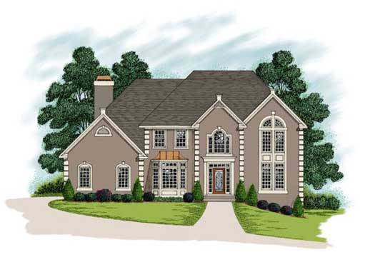 Traditional Style House Plans Plan: 4-229