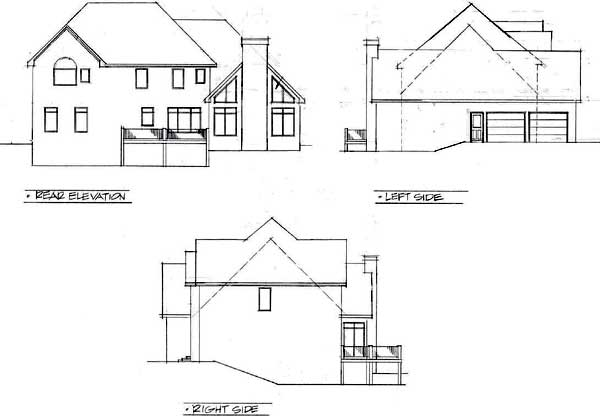 Rear Elevations Plan:4-229