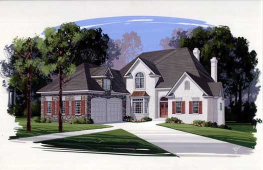Traditional Style Floor Plans Plan: 4-231