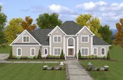 European Style House Plans Plan: 4-232