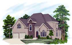 Traditional Style Floor Plans Plan: 4-233