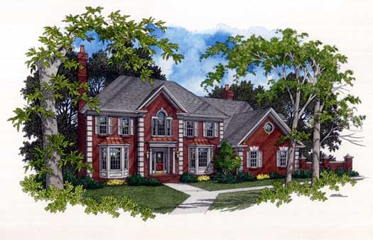 European Style Floor Plans Plan: 4-235
