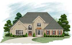 Traditional Style House Plans Plan: 4-236