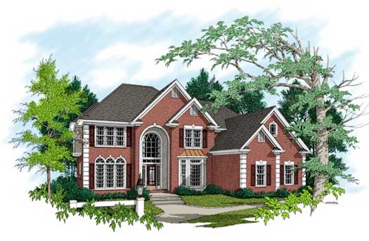 Traditional Style House Plans Plan: 4-238