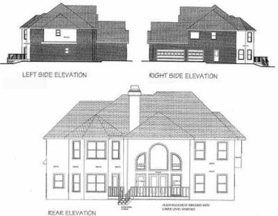 Rear Elevation Plan: 4-238