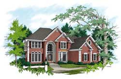 Traditional Style Floor Plans Plan: 4-238