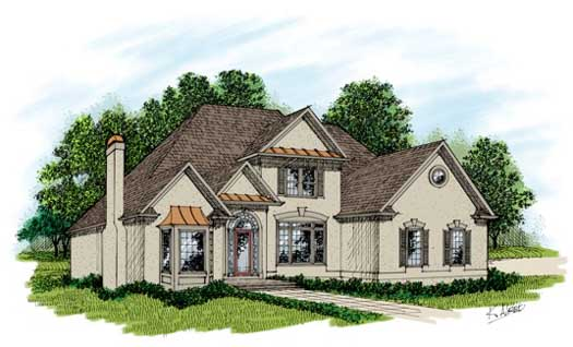 Traditional Style Floor Plans Plan: 4-239