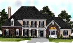 Southern Style Floor Plans Plan: 4-242