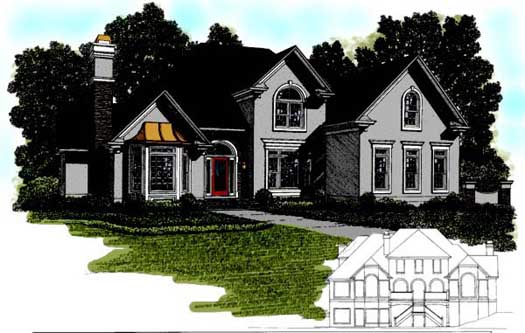 Traditional Style House Plans Plan: 4-244