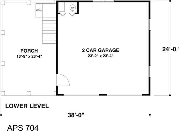 Main Floor Plan: 4-249