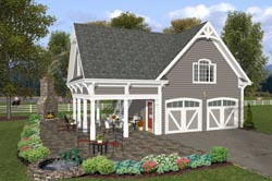 Country Style House Plans Plan: 4-249