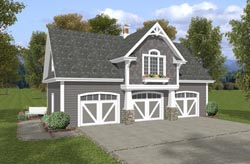 Cottage Style House Plans Plan: 4-250
