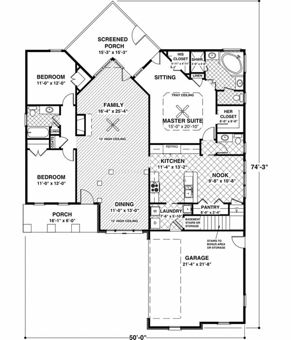 Main Floor Plan: 4-252