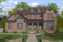 Craftsman Style House Plans Plan: 4-259
