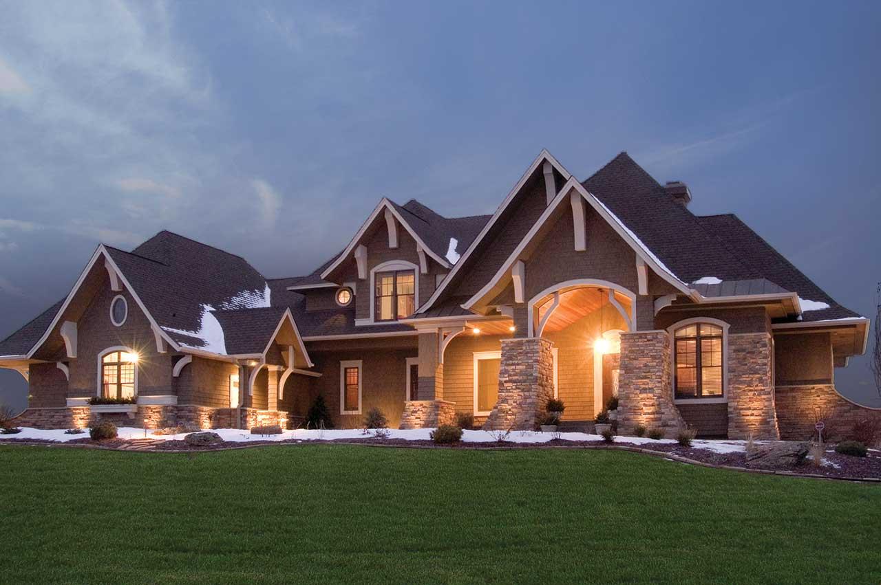 Craftsman Style House Plans Plan: 4-261