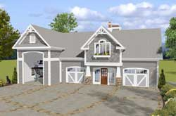 Craftsman Style House Plans Plan: 4-270