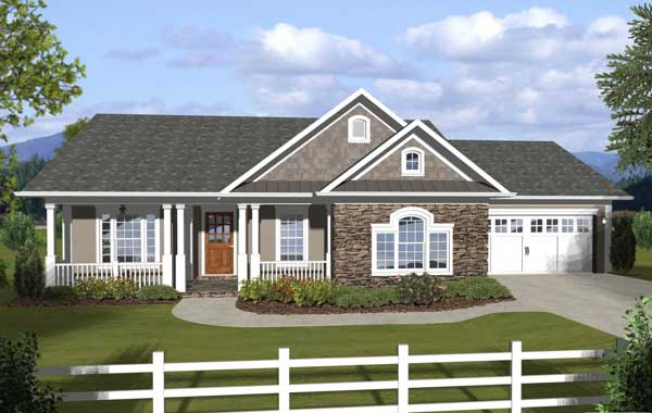 Country Style House Plans Plan: 4-275