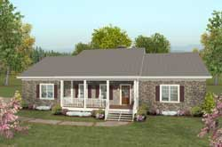 Country Style House Plans Plan: 4-276