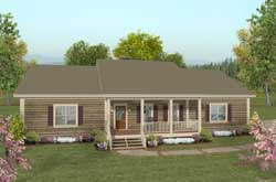 Country Style Floor Plans Plan: 4-277