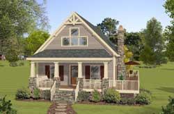 Cottage Style Floor Plans Plan: 4-280