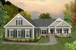 Craftsman Style Floor Plans Plan: 4-289