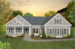 Southern Style Floor Plans Plan: 4-290