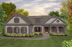 Craftsman Style Floor Plans Plan: 4-292
