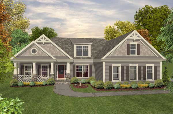 Craftsman Style House Plans 4-293