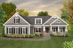 Craftsman Style House Plans Plan: 4-294