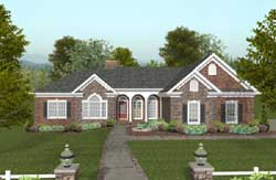 Southern Style Floor Plans Plan: 4-295