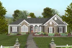 Southern Style Floor Plans Plan: 4-297