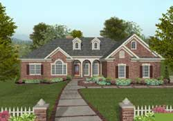Southern Style House Plans Plan: 4-301
